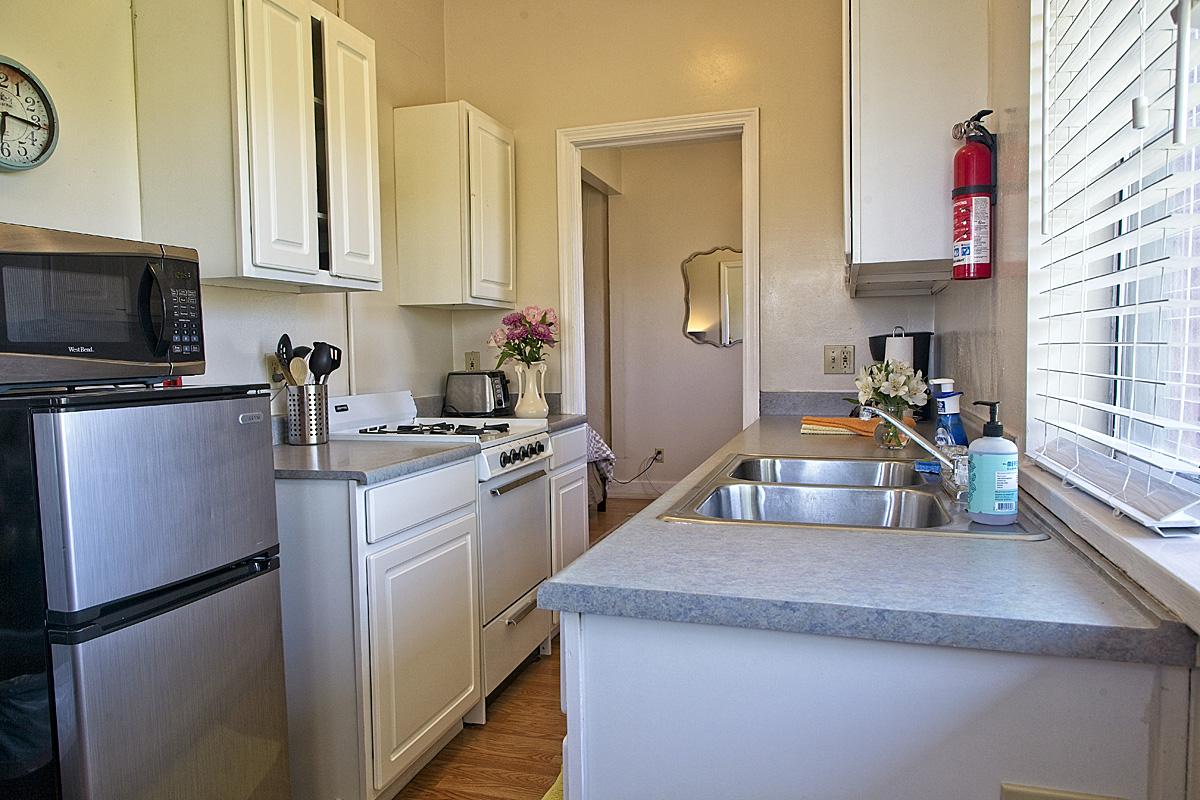 room 207 kitchen
