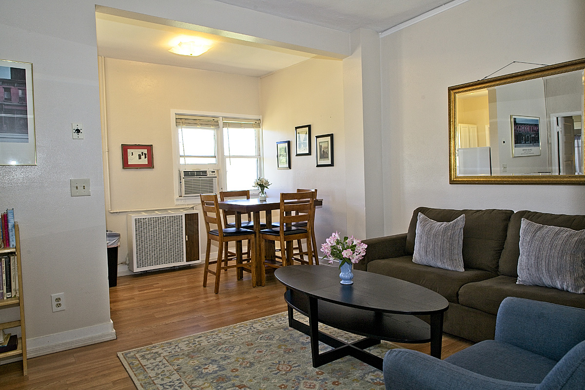 room 205 living and dining area's