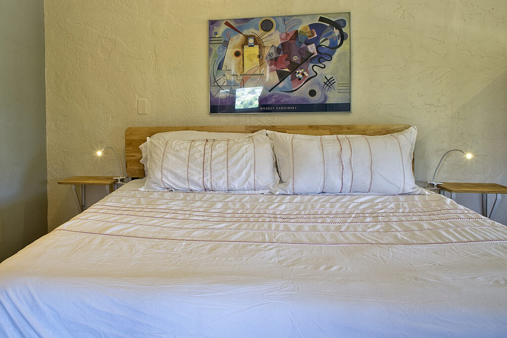 room 201 bed