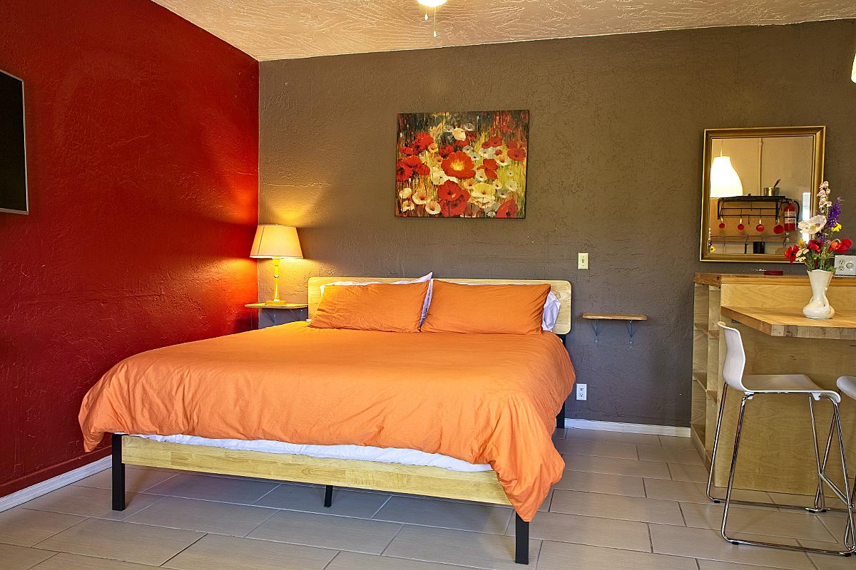 room 203 bedroom