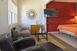 room 203 living area